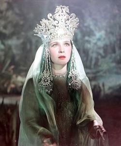 Princess of Lake Ilmen in Sadko, 1952
